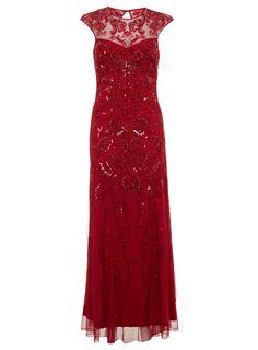 Miss Selfridge Berry Fishtail Bodycon Dress - Polyvore
