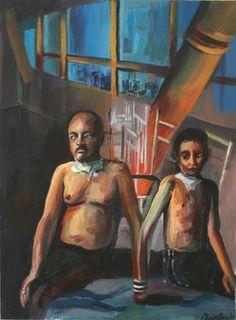 Original People Painting by Maia S Oprea Figure Painting, Figurative Art, Paper Art, Saatchi Art, Original Paintings, Africa, People, Products, Papercraft