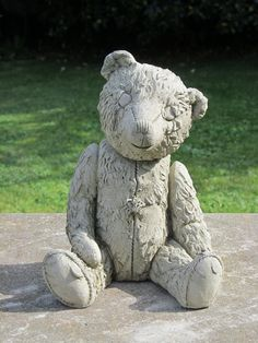 The Scruffy Bear, One Of A Number Of Smaller Sized Bears In Our Collection. Garden  StatuesTeddy Bears