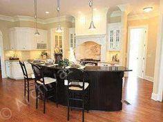 Marcello House Plan Kitchen