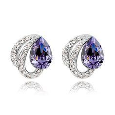 Swarovski crystal earrings wan adjustment  From Crystaljewelryuk.com