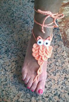 Adorno para pies descalzos por URKAHI en Etsy