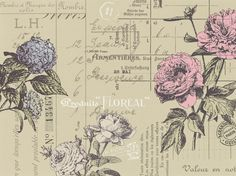 Easy to love - Floréal - #wallpaper from rebelwalls.com