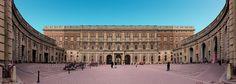 Royal Palace, Stockholm, Sweden - Built starting in 1697 under Charles XII, King of Sweden