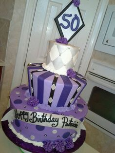 50th birthday cake...