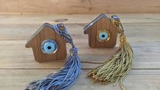 Evil eye wooden ornament, home protection, new years 2020 gift, good luck charm House Ornaments, Wooden Ornaments, Greek Evil Eye, Home Protection, Evil Eye Jewelry, Gold Light, New Year 2020, Things To Buy, Charmed