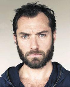 Jude Law Beard by Nick Mischel