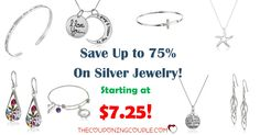 WOOHOO! Looking for a great gift? Save up to 70% off Silver Jewelry today! As low as $7.25! Check out some of the cool necklaces!  Click the link below to get all of the details ► http://www.thecouponingcouple.com/up-to-75-off-silver-jewelry-as-low-as-7-25-gift-ideas/ #Coupons #Couponing #CouponCommunity  Visit us at http://www.thecouponingcouple.com for more great posts!