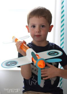 DIY | Bubble Wand Airplanes