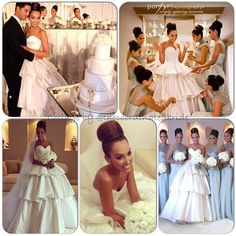 #bride @ velecialaz truly belongs in a magazine! The #weddinghair #weddingmakeup #custom #weddinggown #custom #bridesmaid #dresses - EVERYTHING about this #wedding look was coordinated perfectly! Thanks for allowing me to feature these pics @ velecialaz