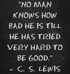 #83 - Good vs. Bad | Top 100 C.S. Lewis quotes | Deseret News