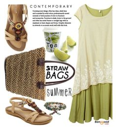 """strawbags BG3"" by jecakns ❤ liked on Polyvore featuring Könitz and strawbags"
