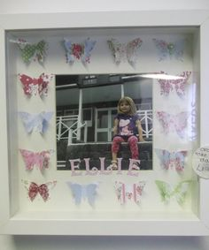 how cute is this frame.. put a picture of your loved one or child in and have there name printed under the picture
