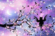 桜幻想の画像(プリ画像)