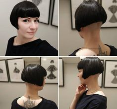 Jaw-Length Shaggy Haircut with Side Bangs - 70 Fabulous Choppy Bob Hairstyles – Best Textured Bob Ideas - The Trending Hairstyle Bob Haircut With Bangs, Short Hair With Bangs, Short Bob Haircuts, Short Hair Cuts, Short Hair Styles, Bob Bangs, Bob Styles, Side Cut Hairstyles, Choppy Bob Hairstyles