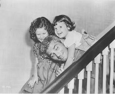 Jeff Chandler and his daughters Jamie and Dana