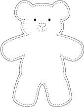 Sample teddy bear template wikihow best 10 easy 10 beginner sewing projects projects are readily available on our web pages check it out and you wont be sorry you did beginn Teddy Bear Outline, Teddy Bear Template, Diy Teddy Bear, Teddy Bear Sewing Pattern, Teddy Bear Crafts, Free Teddy Bear Patterns, Small Teddy Bears, Big Teddy, Fabric Doll Pattern