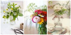 4 Gorgeous Bouquets You Can Make with Herbscountryliving