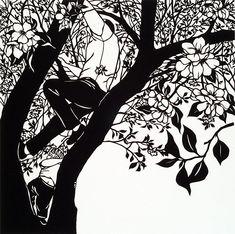 Nikki McClure papercut