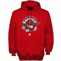 72dab38cf917 adidas Toronto Raptors Primary Logo Pullover Hoodie Sweatshirt - Red