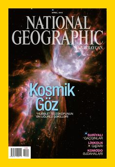 National Geographic Azerbaijan magazine's April Cover. Gas from a dying star resembles a butterfly, its lacy wings formed by the ejection of its outer layers. Unique and colorful planetary nebulae like NGC 6302 have provided some of Hubble's most popular images. Source: NASA; ESA; HUBBLE SM4 ERO TEAM