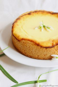 lemon vanilla cheesecake