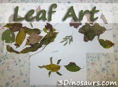 Lef Art - Leaf Man by Lois Ehlert