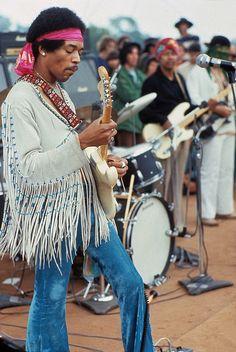 Jimi Hendrix's white Fender Strat