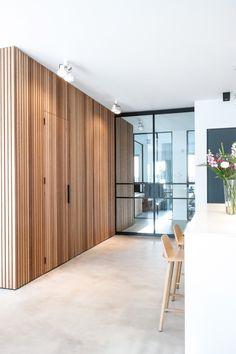 Interieurontwerp interieuradvies stads appartement Amsterdam door Studio Nest #muuto #fiberchair #modular #steeldoors #stalendeuren