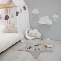 Sweet Dreams Collection - New Additions Sweet Dreams Cloud Plate - £6.50 Sweet Dreams Raindrop Hanging Decoration - £6.50 Sweet Dreams Cloud Shelf - £15 Sweet Dreams Cloud Baby's Room Plaque - £4.50 Sweet Dreams Cloud Mini Milk Bottle With Straw - £4 The perfect Nursery Decor Inspo!