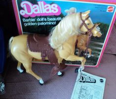 I think I loved this horse more than all my barbies put together.