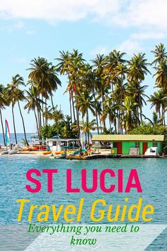 Before going to St Lucia I wasn't sure what to expect beyond sun, sand and sea. So when I arrived on the island to be greeted by lush greenery made up of mountains, exotic palm trees, banana plantations and rough coastlines exposed to the ocean, I realised I had wildly underestimated this place. This #travel guide will help you discover everything you need to know about this beautiful island! #StLucia #Caribbean
