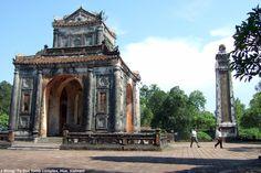 Emperor Tu Duc tomb complex, Hue Vietnam