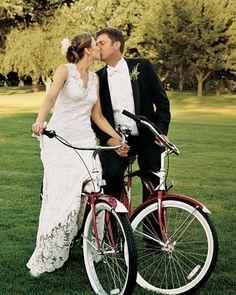 wedding on bikes? my dream!