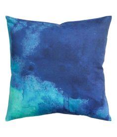 Tie Dye Cotton Pillow Cover 20x20 H&M