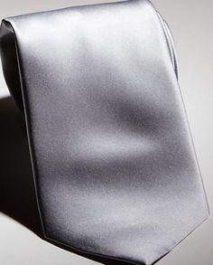 silver tie