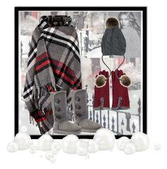 """Winter Wonderful #grey #inspireddesign"" by janetvera on Polyvore featuring UGG"