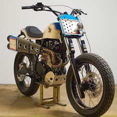 BikeBound — High-Pipe Heaven: Honda XR600 flat-tracker by...