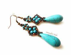 fülbevaló / earrings | moonsafari beads - egyedi ékszerek