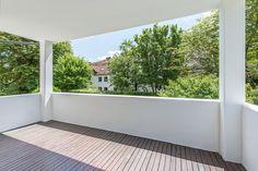 Bogenhausen/Englschalking: Moderne, helle 4-Zimmer-Wohnung mit idealem Grundriss und großzügiger Südloggia Details: http://www.riedel-immobilien.de/objekt/3667