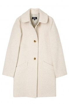 A.P.C. - Best White Coats for Fall 2012
