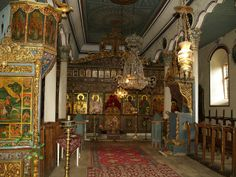 Bulgaria, Zheravna Church, Interior, Gold Leaf and Religious Icons