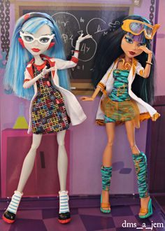 All Monster High Dolls, Monster High Ghoulia, Monster High Characters, Love Monster, Monster Dolls, Harry Potter Dolls, Custom Barbie, Ever After Dolls, Season Of The Witch