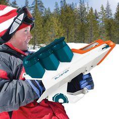 The 50 Foot Snowball Launcher - Hammacher Schlemmer