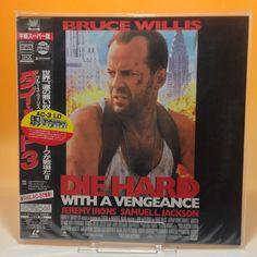 Die Hard 3: With A Vengeance (1995) PILF-2124 LaserDisc LD NTSC OBI Japan 67-034