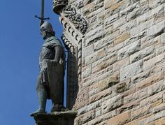 William Wallace Monument would be a great day trip from Edinburgh or Glasgow.