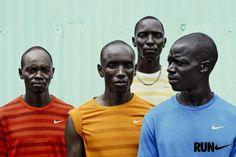 Julia Noni captures Kenya's elite runners in Nairobi for Nike