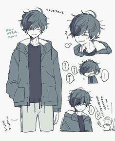 I like him cartoon - 2019 anime art,character art ja anime boy sketch. Anime Drawings Sketches, Anime Sketch, Cute Drawings, Anime Boy Drawing, Boy Hair Drawing, Drawing Clothes, Cute Boy Drawing, Cute Art Styles, Cartoon Art Styles