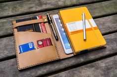 Leather iPad Mini and Leuchtturm1917 Cover Personalized