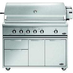 DCS Traditional 48Inch Natural Gas Grill On Cart with Rotisserie Griddle and Hybrid IR Burner -- You can find more details by visiting the image link.(This is an Amazon affiliate link and I receive a commission for the sales)
